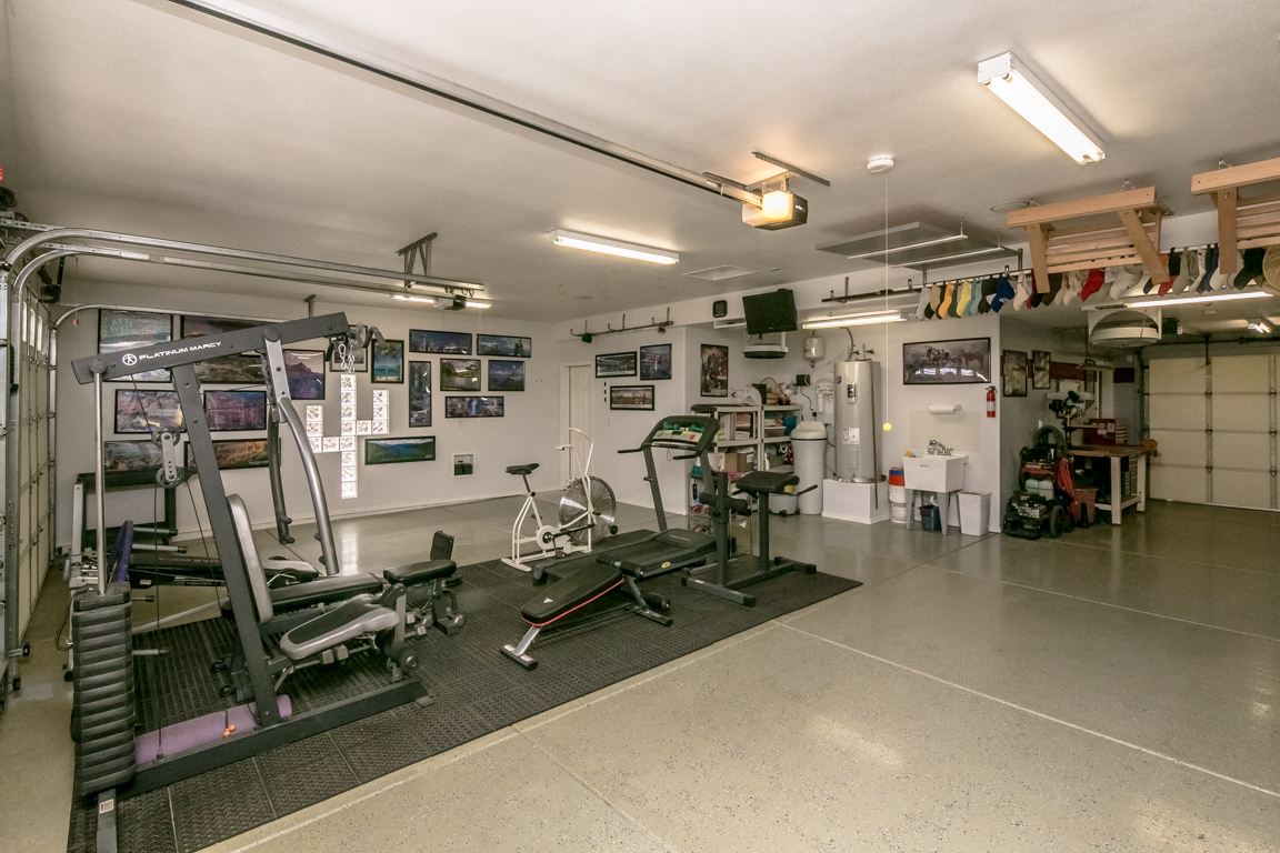 Garage Gym With Car Lake Havasu 3 Car Garage With Pull Through The Collins Team