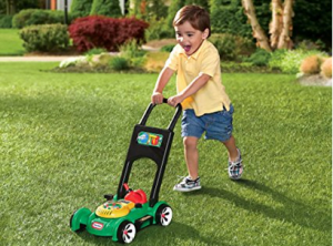 1 Little Tikes Gas 'n Go Mower