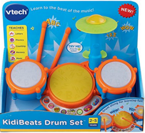 2 VTech KidiBeats Kids Drum Set