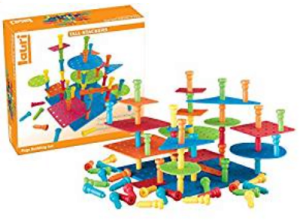 21 Lauri Tall-Stackers Pegs Building Set