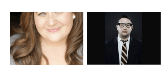 Aidy Bryant and Tim Robinson, new SNL cast members, September 2012