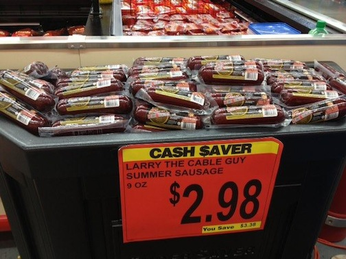 Larry the Cable Guy Summer Sausage