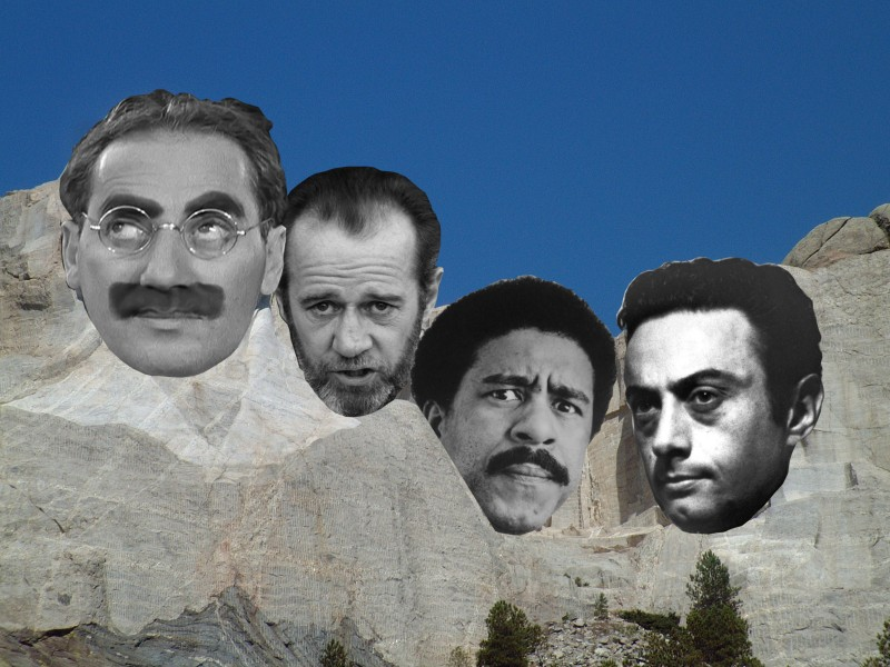 Who Would Make It Onto The Mount Rushmore Of Comedy The