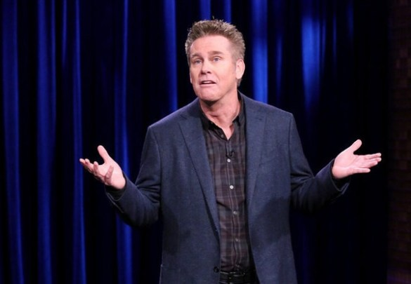 THE TONIGHT SHOW STARRING JIMMY FALLON -- Episode 0335 -- Pictured: Comedian Brian Regan performs on September 23, 2015 -- (Photo by: Douglas Gorenstein/NBC)