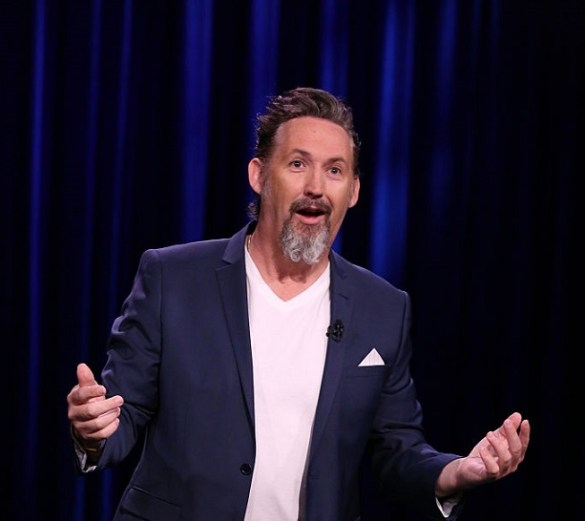 THE TONIGHT SHOW STARRING JIMMY FALLON -- Episode 0478 -- Pictured: Comedian Harland Williams performs on May 24, 2016 -- (Photo by: Andrew Lipovsky/NBC/NBCU Photo Bank)