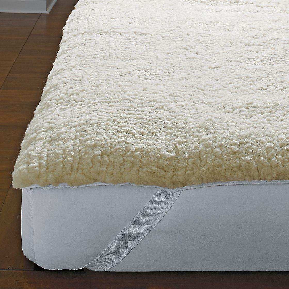 Wool Mattress Pad Reviews Ultra Fleece Mattress Pad The Company Store