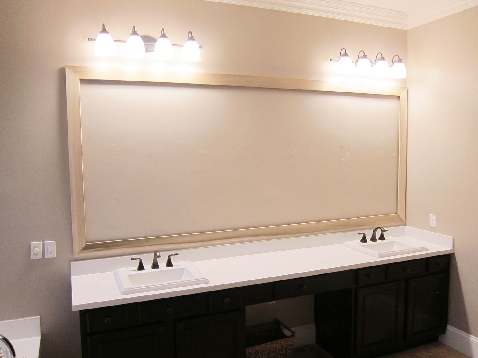 Hanging Bathroom Mirror Custom Hanging Mirrors That Make Your Bathroom Pop The