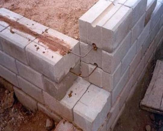 Dry Stacked Interlocking Masonry System Mortarless