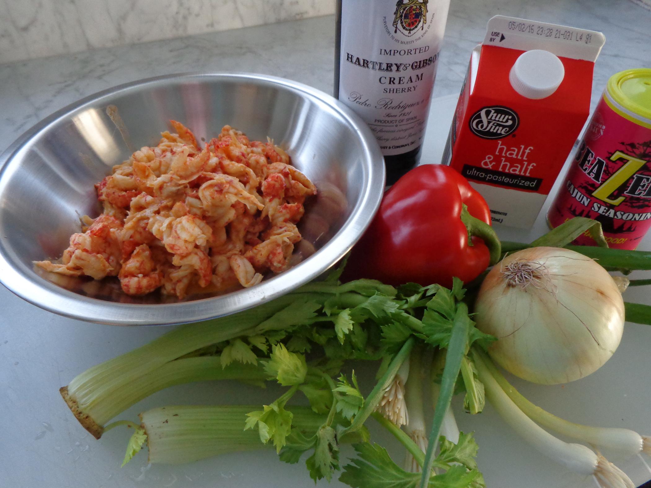 Crawfishpie Ingredients