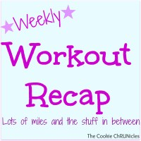Weekly Workout Recap 12/15-12/21