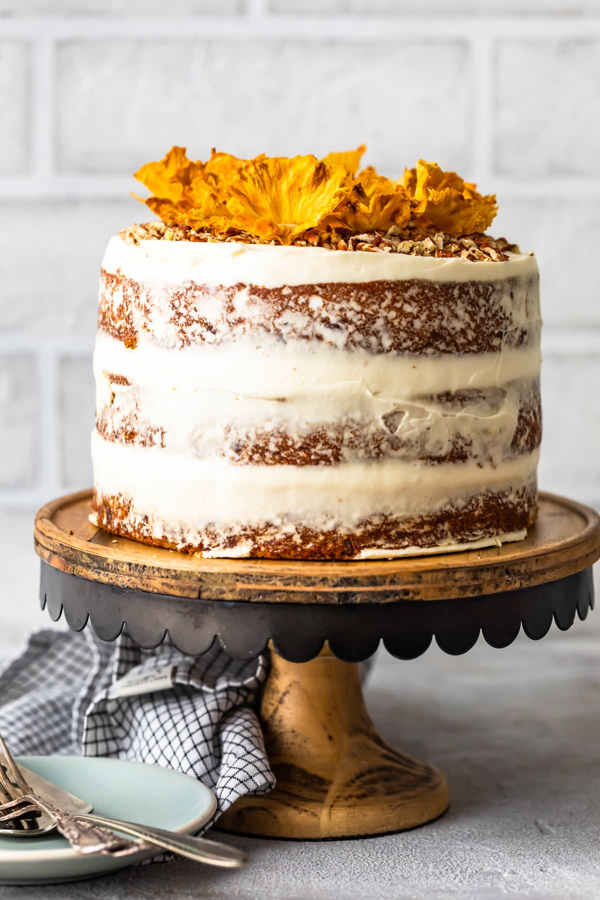 Baking Cakes Hummingbird Cake Recipe With Dried Pineapple Flowers