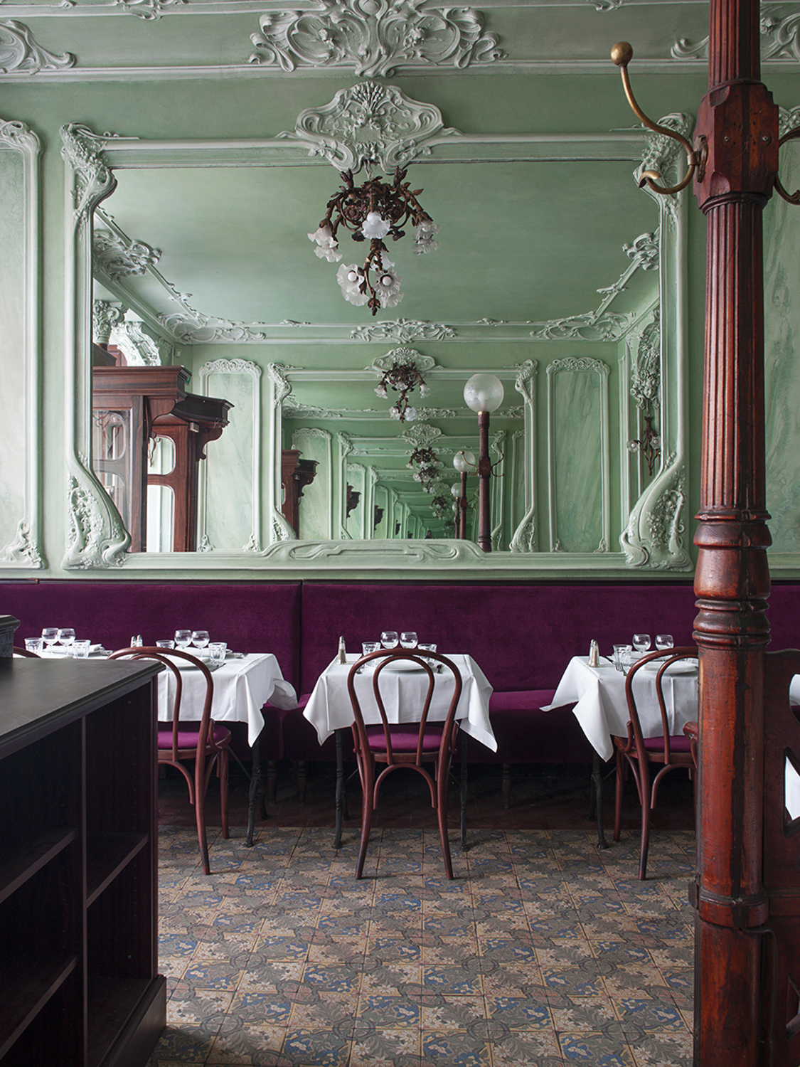 Restaurant Design Paris Restaurant Bouillon Julien Paris France The Cool Hunter The