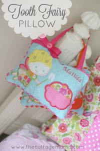 Tooth Fairy Pillows - The Cottage Mama