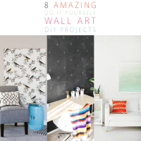 8 Amazing Wall Art DIY Projects - The Cottage Market