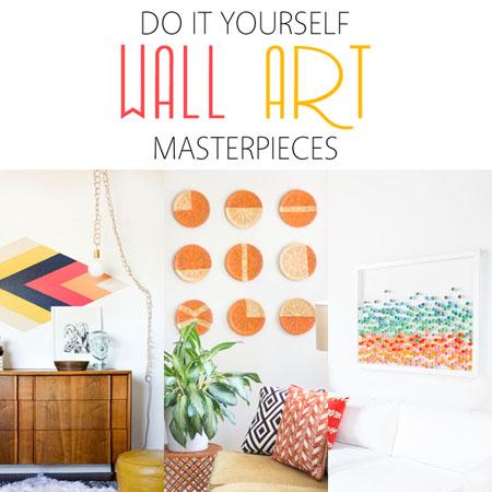 DIY Wall Art Masterpieces