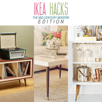 Ikea Hacks The Mid-Century Modern Edition - The Cottage Market