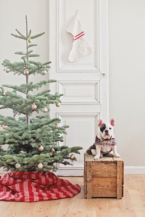 A Cottage Christmas - The Cottage Market - simple christmas tree decorating ideas