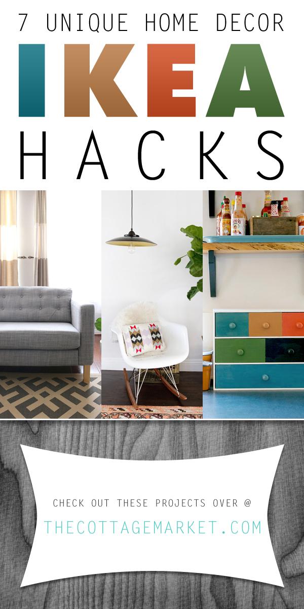 7 Unique Home Decor Ikea Hacks - The Cottage Market - unique home decorations