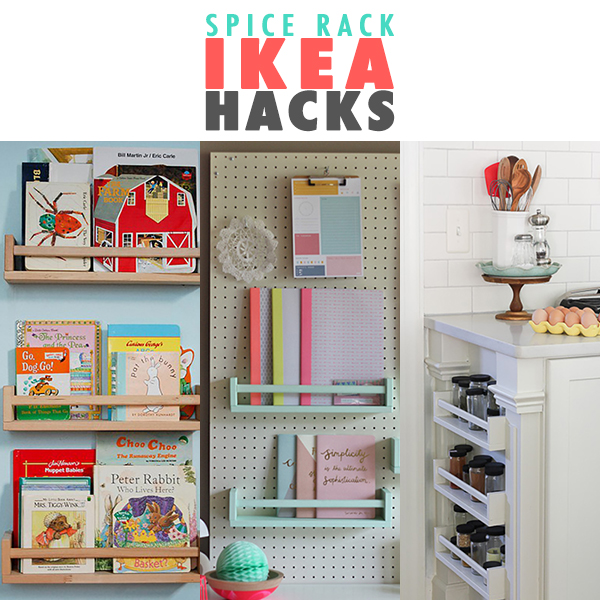 Mail Organizer Ikea Spice Rack Ikea Hacks - Page 2 Of 10 - The Cottage Market