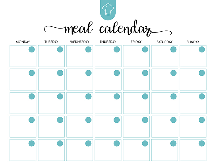 Free Printable Meal Planner Set - The Cottage Market - printable meal planner
