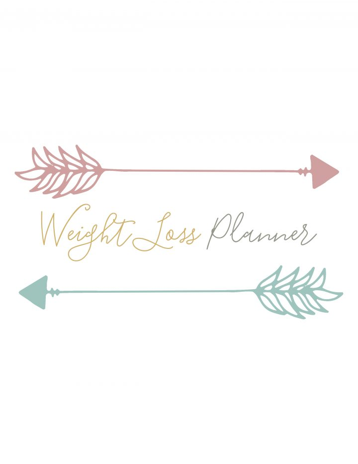 Free Printable Weight Loss Planner - The Cottage Market - weight loss planner