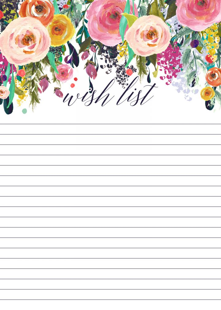 Free Printable List Bundle  / 15 in All!!! on The Cottage Market