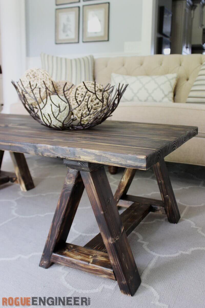 Hilarious Handmade Haven Is Sharing Diy Distressed Diy Farmhouse Coffee Tables Your Living Room This Plans Chunky Farmhousecoffee I Love Mix Wood Grain On curbed Farmhouse Coffee Table