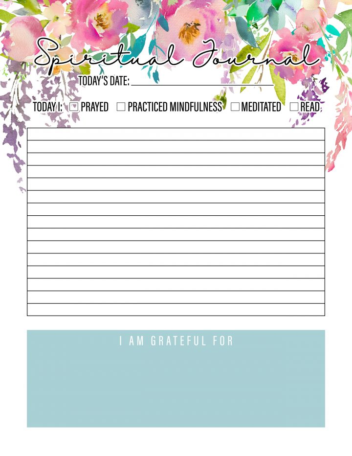 The Best 2019 Free Printable Planner to Organize Your Life!  / 50+