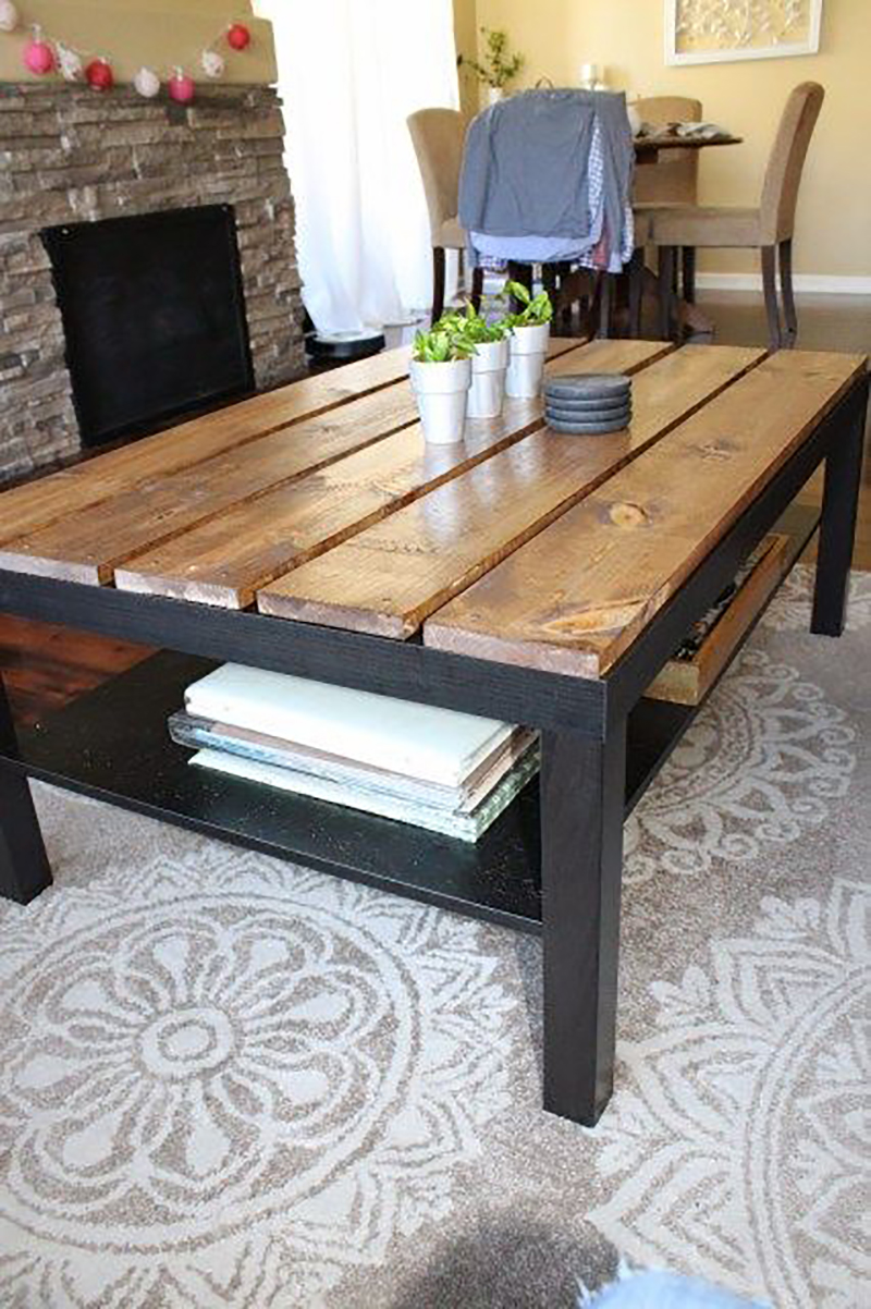 Budget Friendly Ikea Coffee Table Hacks The Cottage Market