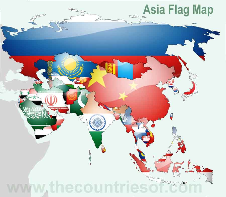 Is Asia a Country or Continent - Countries of the World