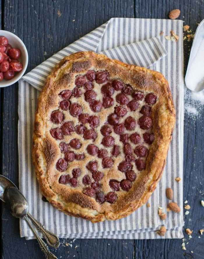 Tart Cherry and Almond Gallette_6small