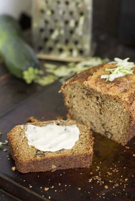 Moist zucchini bread is a foolproof mix of nuts, cinnamon and zucchini ...