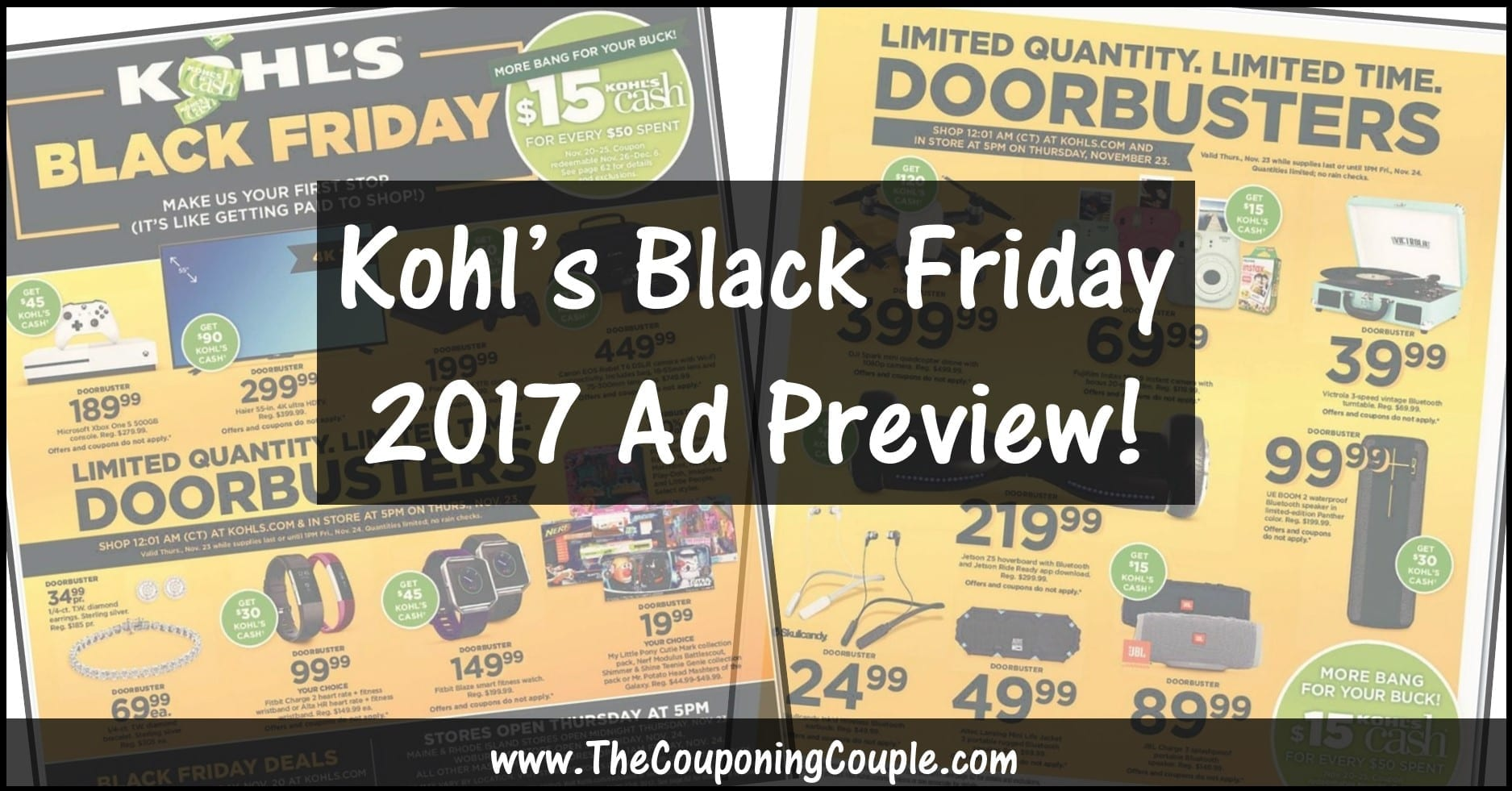 Black Friday Frankfurt 2017 Kohls Black Friday Ad 2017 Browse All 64 Pages Of The Ad