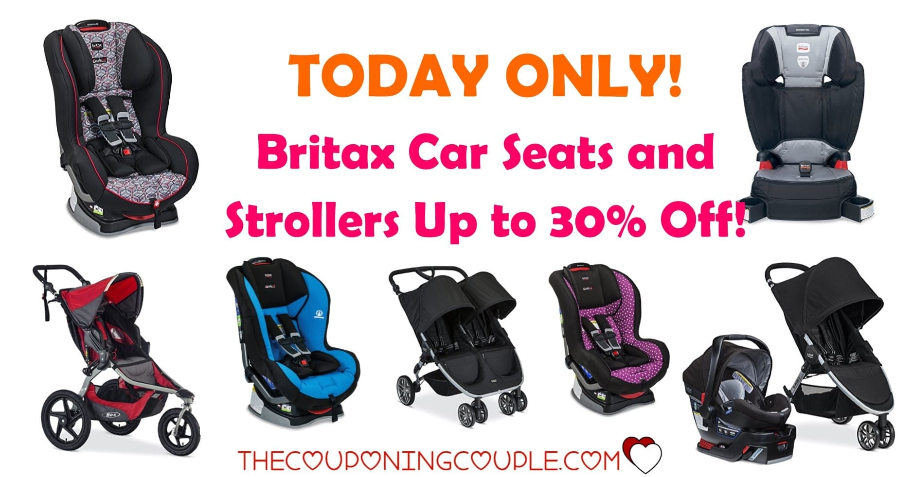 Britax Car Seat With Stroller Today Only Get Up To 30 Off On Britax Car Seats And Strollers