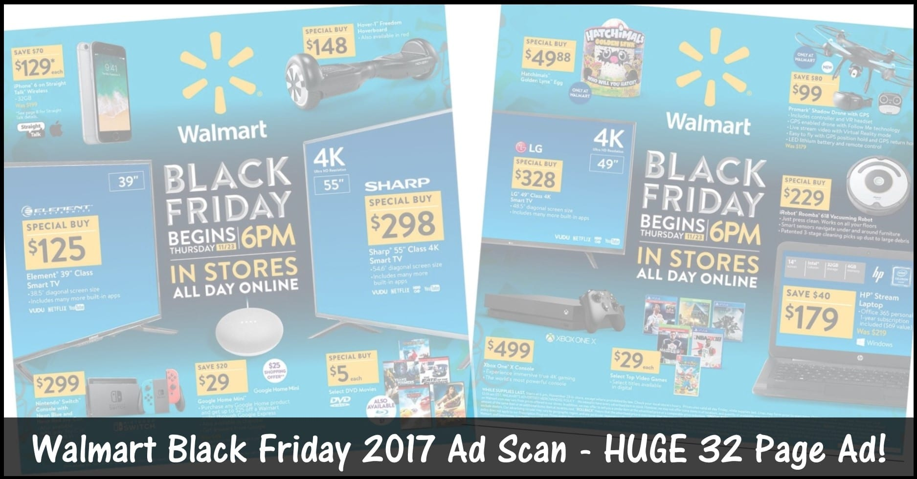 Black Friday Frankfurt 2017 Walmart Black Friday Ad 2017 Browse All 32 Pages Now