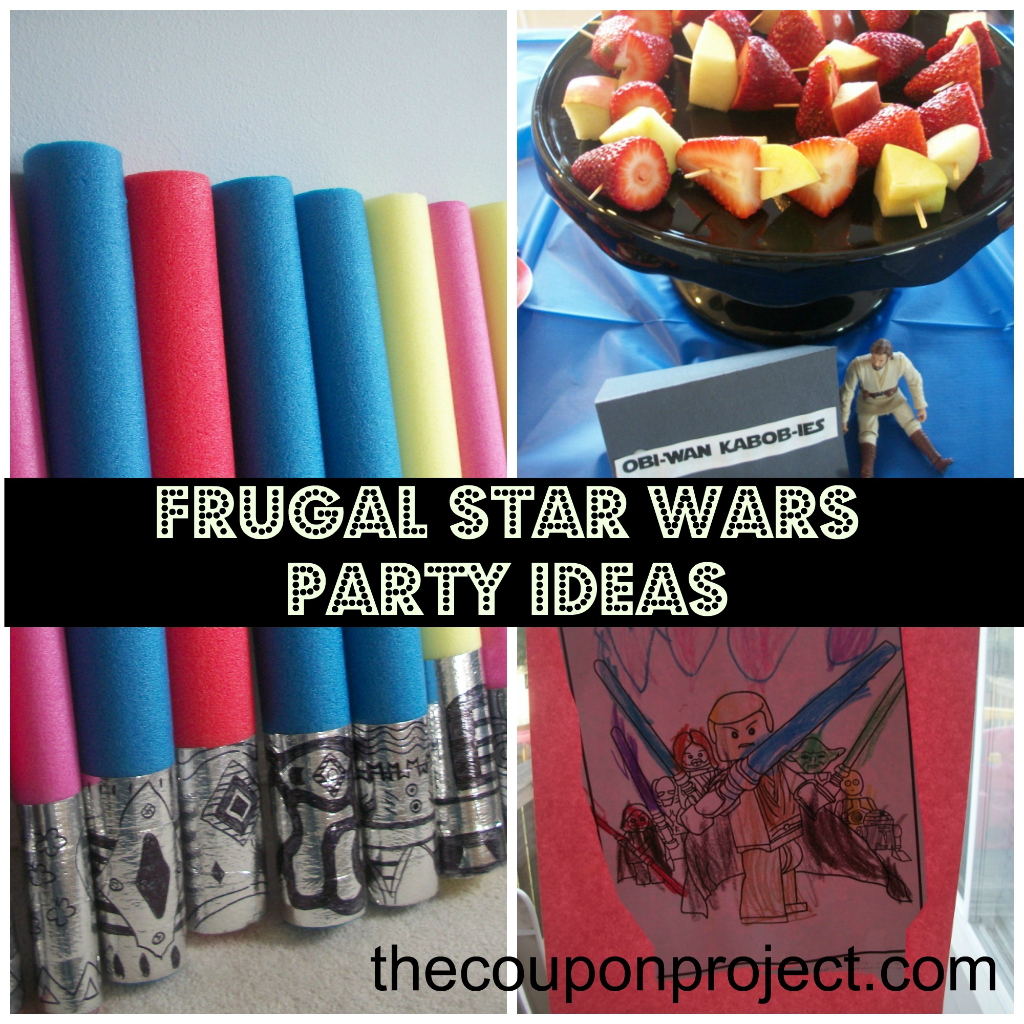 Star Wars Decorations Ideas Frugal Star Wars Party Ideas