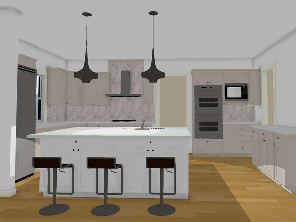 Kitchen Design Layout Graph Paper 3 Steps To Planning Your Kitchen Remodel The Couture Haus