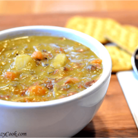 Mom's (best ever) Split Pea Soup