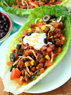 Gallant Se Turkey Taco Lettuce Wraps Are Full Lean Tasty Your Mexican A Ly Easy Weeknight Turkey Taco Lettuce Wraps Cook Ground Turkey Tacos Cabbage Ground Turkey Tacos Crock Pot