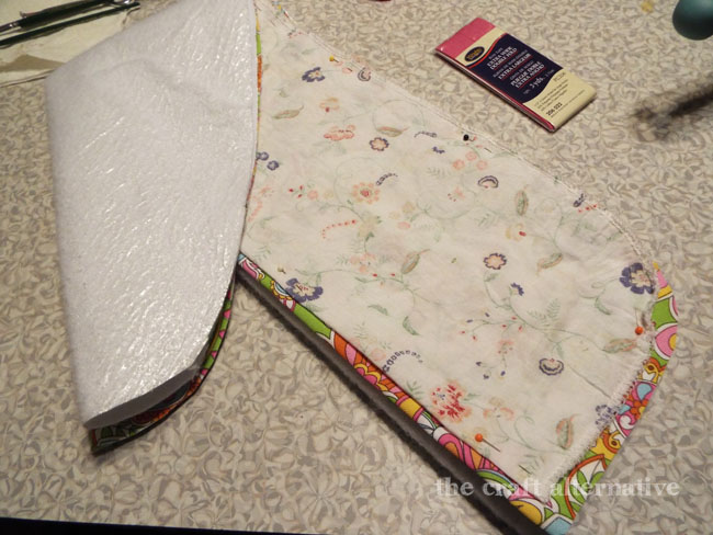 updating a flimsy travel ironing board