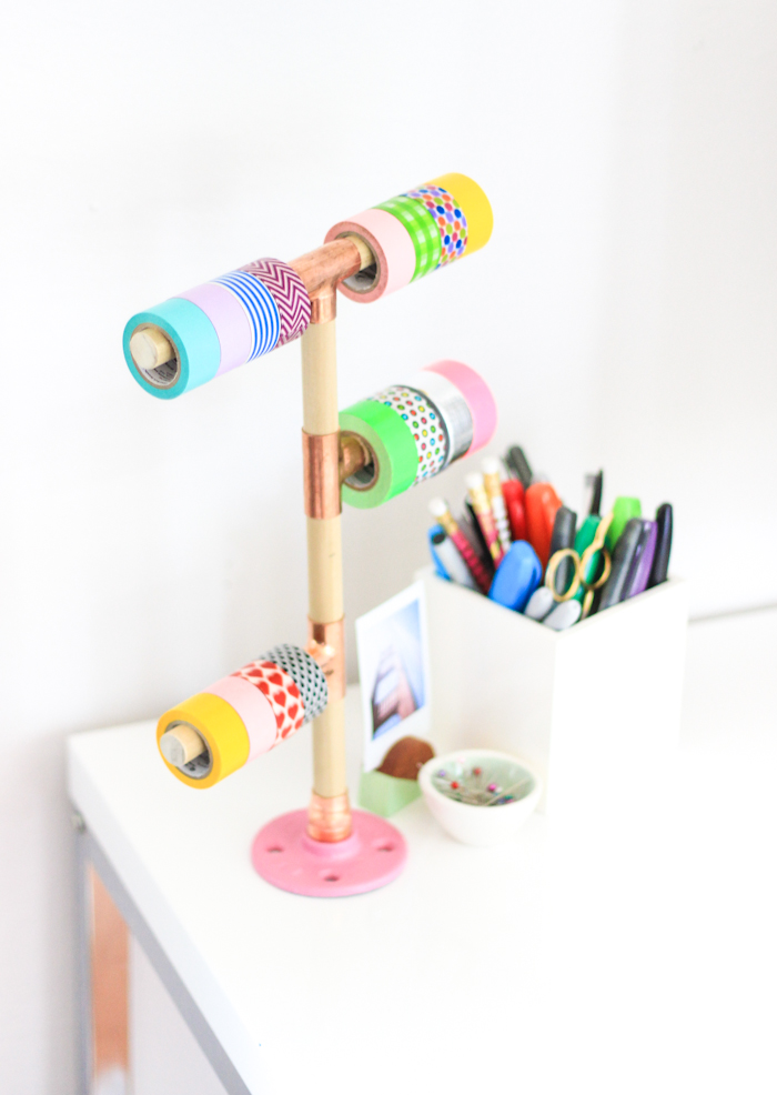 Washi Tape Diy Diy Washi Tape Holder - The Crafted Life