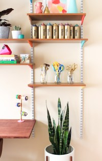 Pinned It, Made It, Loved It: DIY Mounted Wall Desk - The ...