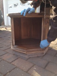 How To Turn a Dog Bed Into an End Table  The Craft Gab