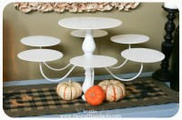 Chandelier Cupcake Stand {trash to treasure} - The ...