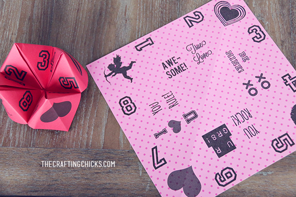 Valentine Cootie Catchers  Free Printable - The Crafting Chicks