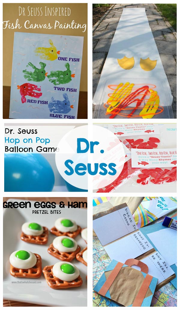 Dr Seuss - The Crafting Chicks