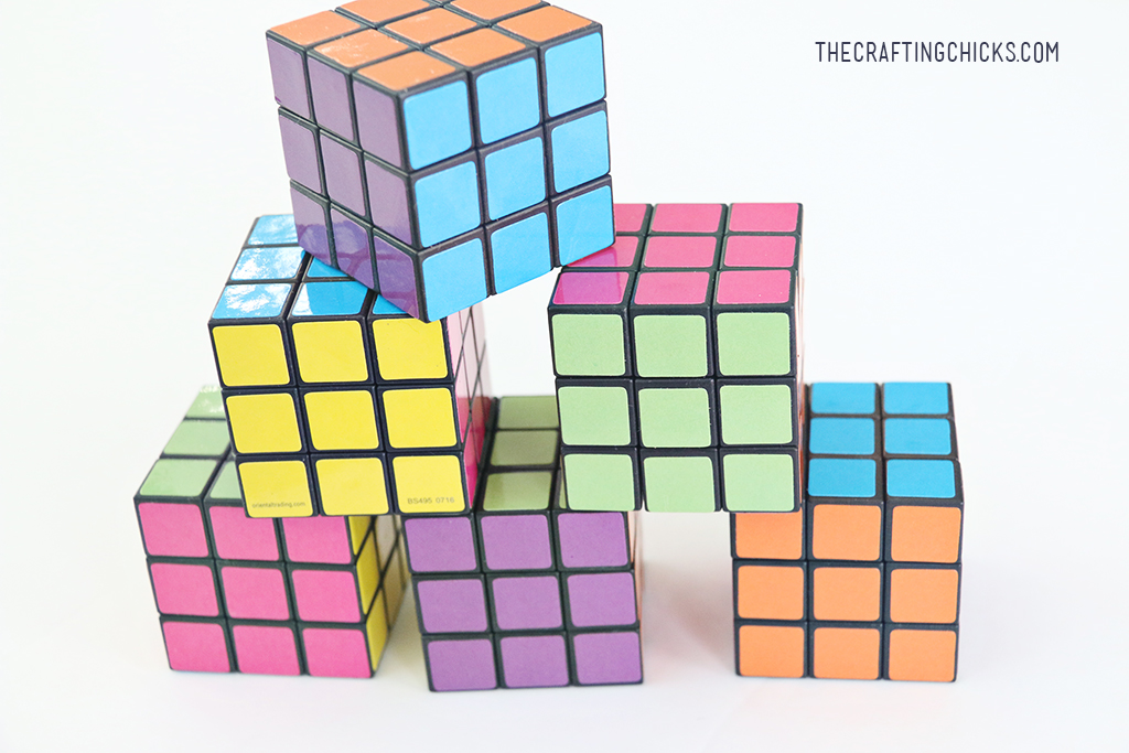 Rubix Cube Valentine Printables - The Crafting Chicks