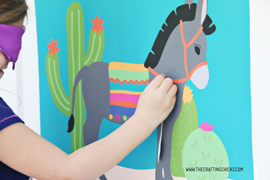 Pin the Tail on the Donkey - The Crafting Chicks