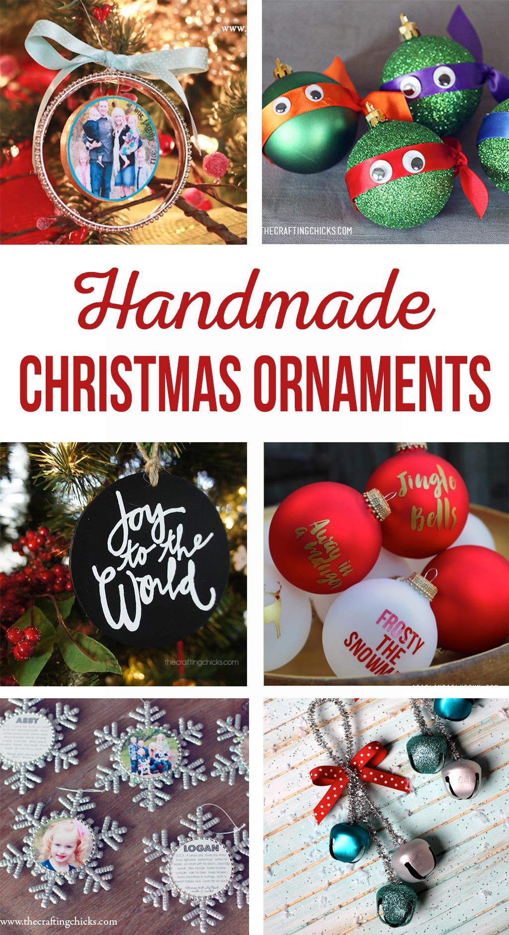 Diy Christmas Ornaments Diy Christmas Ornaments The Crafting Chicks