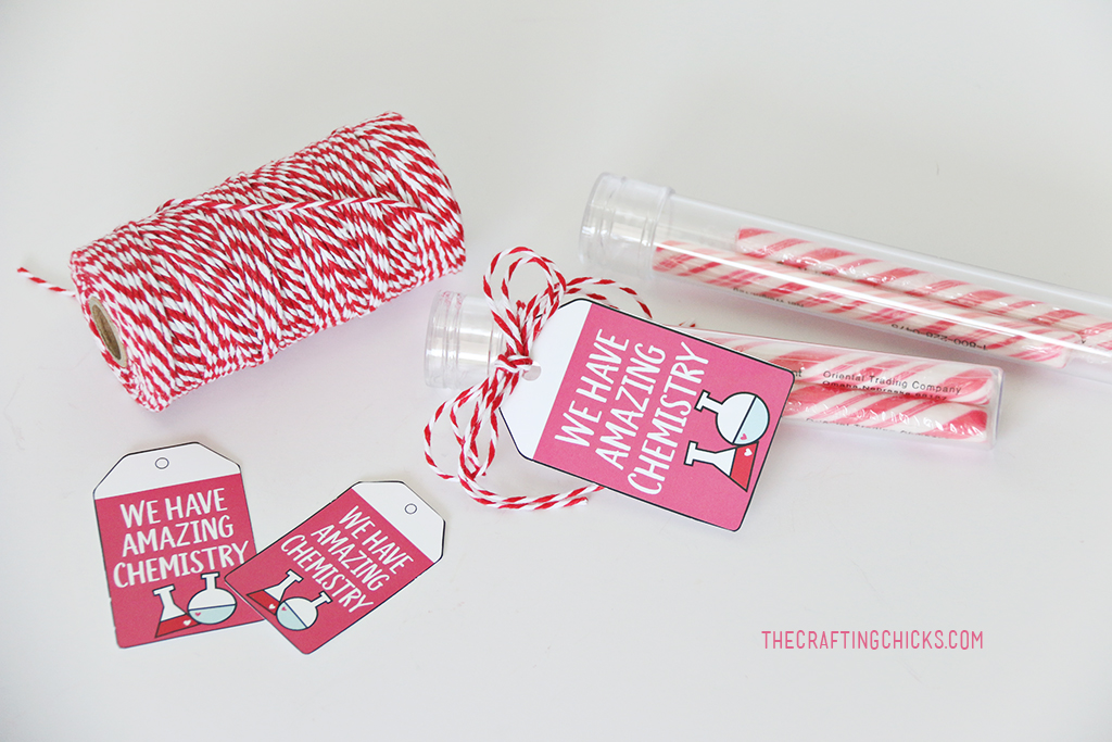 We Have Amazing Chemistry Printable Valentine - The Crafting Chicks